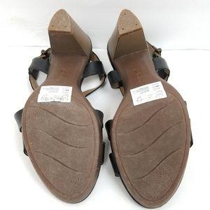 44a6d420fd45 Clarks Shoes - Clarks Leather Multi Strap Jaelyn Fog Sandals 8M